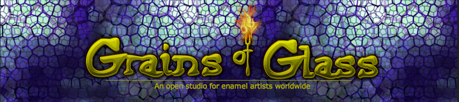 Grains of Glass Enamel Artists