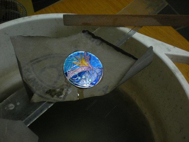 Enamel cloisonne. ( dial watch, icon, etc....) 7d42_4667